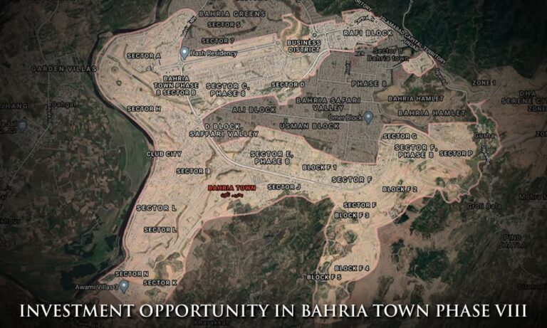 Bahria Town Phase 8 Extensions