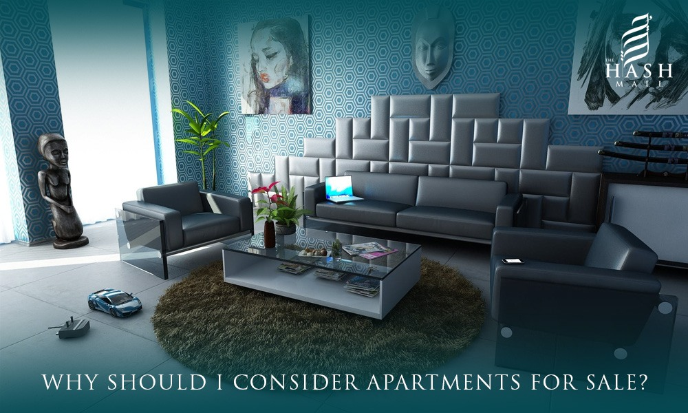 Why should I consider apartments for sale?