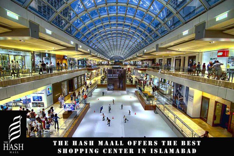 Shopping Center in Islamabad