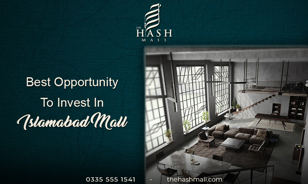 Best opportunity to invest in Islamabad mall